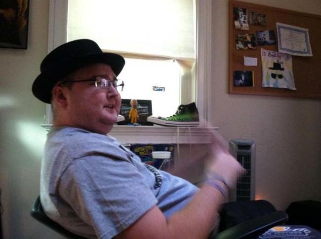 一名患了癌症的年轻人实现了他最大的三个愿望
