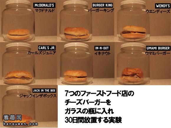 2ch翻译:麦当劳,比其他的汉堡店更加安全(?)