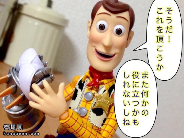 2ch翻译:总算是入手了伍迪的手办!
