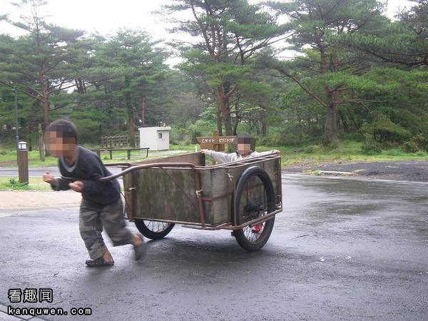 2ch翻译:有一个轮子的这玩意,叫什么来着?