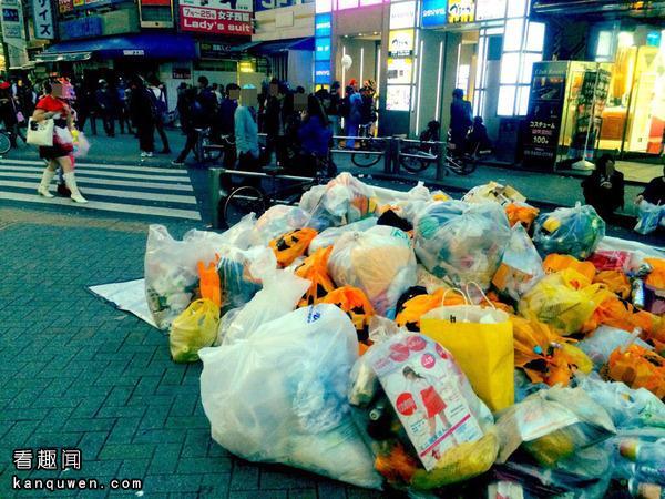 VIPPER清扫涩谷垃圾
