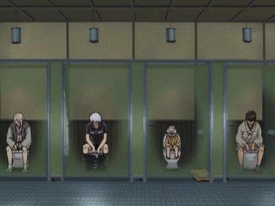 『短篇故事・2ch』在公共厕所蹲大的时候,和隔壁单间的大叔萌生了友情w