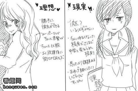 2ch:腐女「腐女的脸偏差值比普通的女生要高」