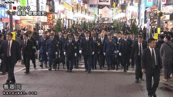 2ch:警视总监「歌舞伎町」的视察有种仿若大名行列般的威压感形成了热议