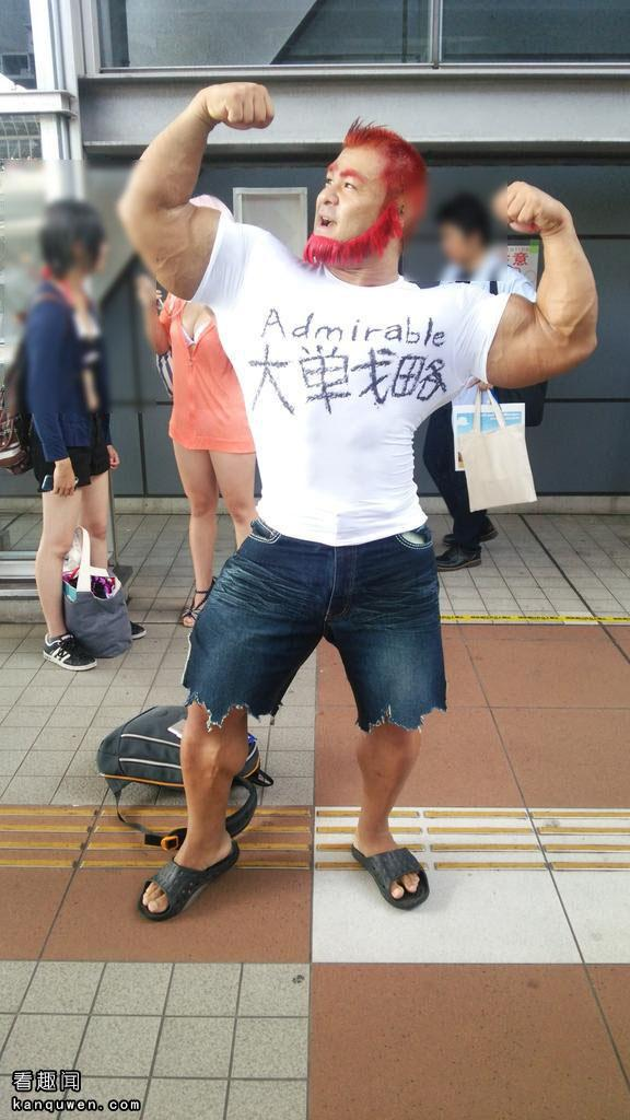 2ch:冬漫展的桑吉尔夫的cosplay超厉害!肌肉是真货www