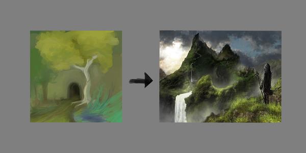 2ch:画了一年画的结果…