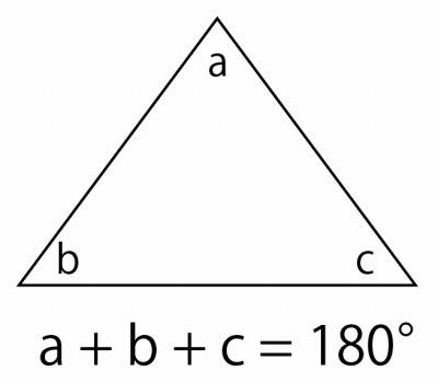 2ch:三角形3个内角的和是180度,但是存不存在3个角同时在61度以上的三角形呢?