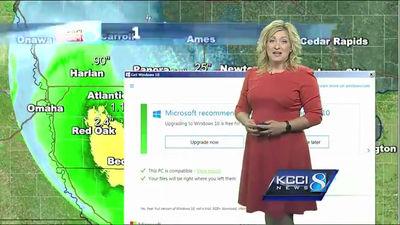 2ch:天气预报中微软唐突出现「快给老子升到win10」