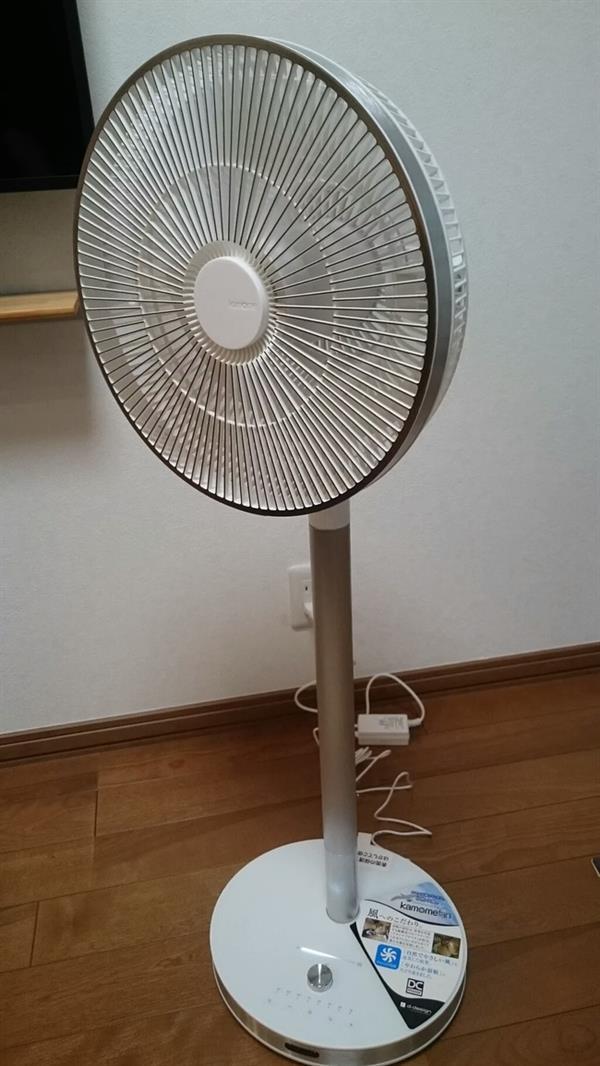 2ch:买了24000日元的高级电风扇www