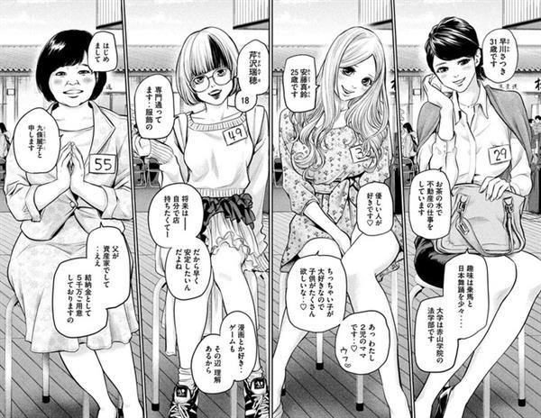 仓鼠速报:关于「这4个女性中选择和谁结婚?」这个问题太难的这件事