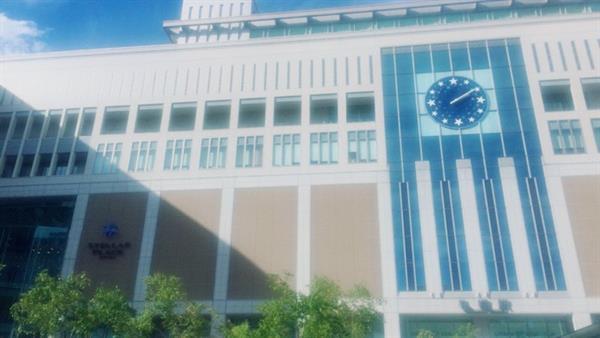 仓鼠速报:用自拍APP拍了札幌站之后很有动画的感觉www